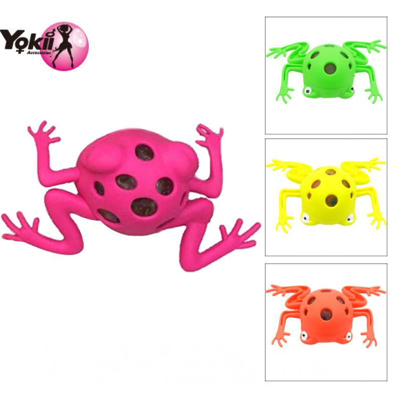 Frogs Model Grape Venting Balls Squeeze Pressure Relief Toy