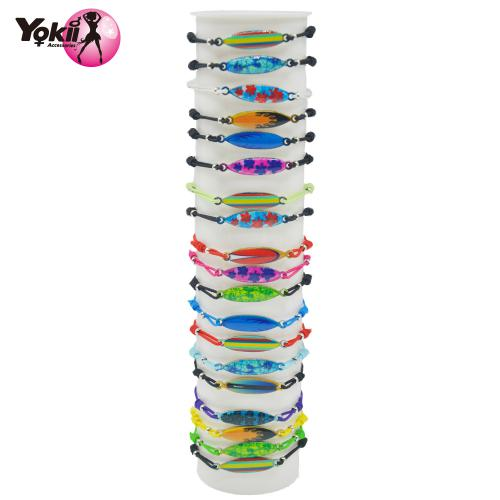 Colorful Handmade Alloy surfing Bracelets For Women Kids Bracelet 30pcs