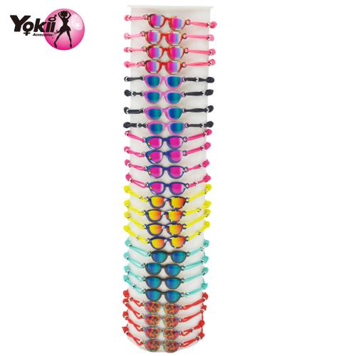 Hand made Alloy Colorful glasses Bracele...