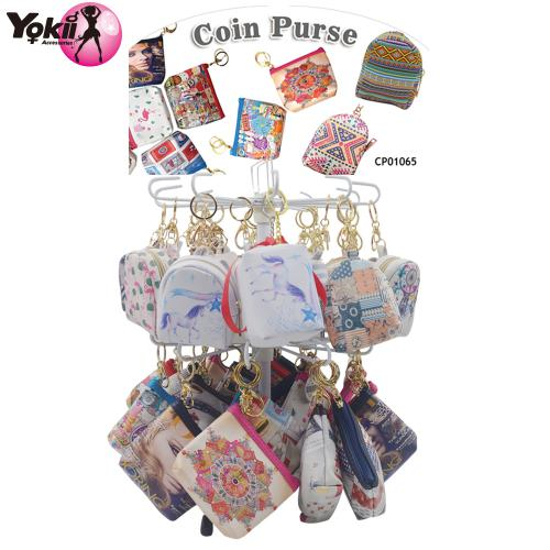 Women Girls Small Cute Change Coin Purse Pocket Wallet Bag Key Holder(80PC+Display)
