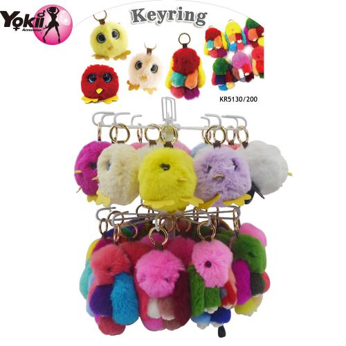 Owl & Rabbit 14cm keyring & bag accessor...