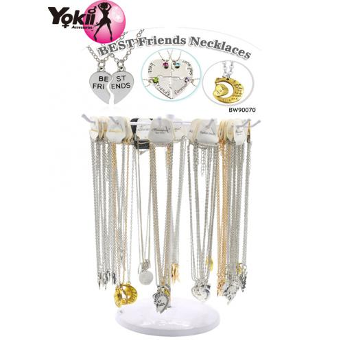 Best Friends Necklace(120Pcs/Display incl.Header)