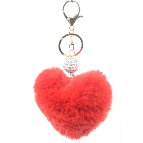 Strass Ball & Heart keyring & bag accessories display (80Pcs/Display incl.Header)